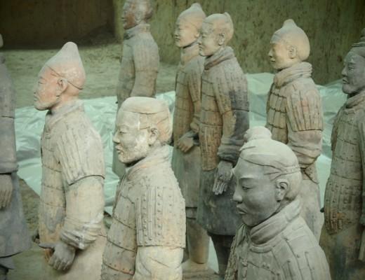 soldats enterrés de xian