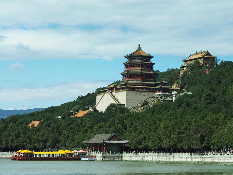 Le Palais des nuages ordonnés à Pékin