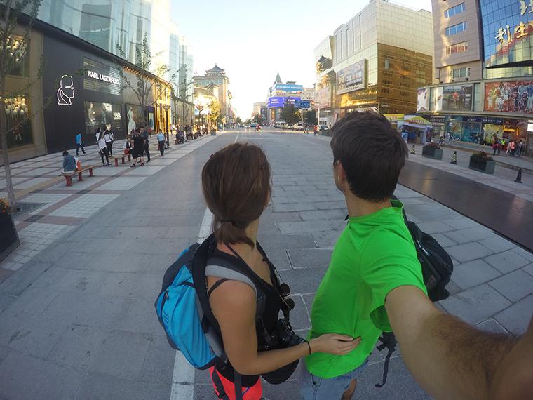 Rue Wangfujing, les champs-élysées de Pékin
