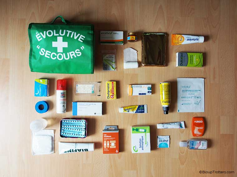 Trousse à pharmacie Bloup Trotters