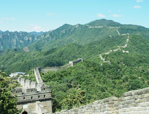muraille de chine mutianyu