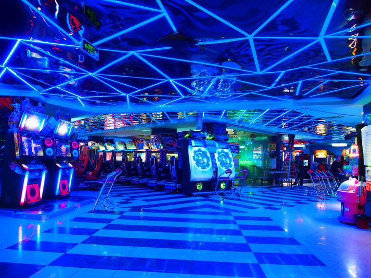 Salle d'arcade à la chinoise !