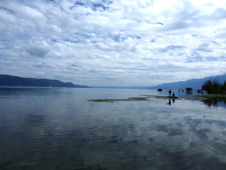 Le lac Erhai près de Dali !