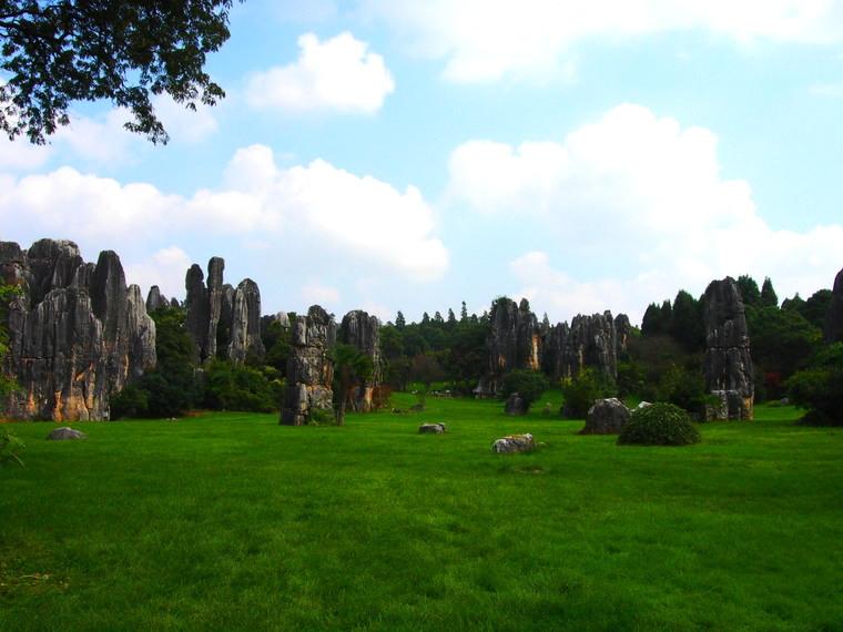 La petite forêt de pierre de Shilin