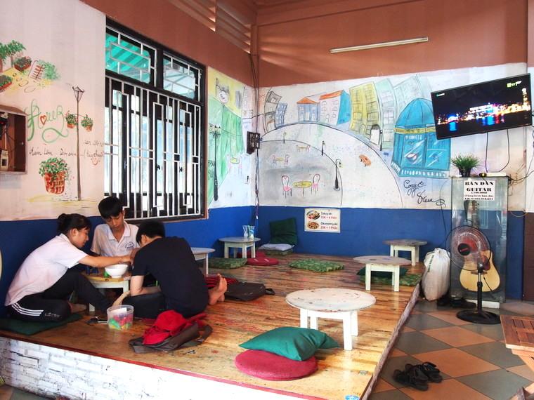 Un endroit peace pour boire un bubble tea à Quy Nhon !