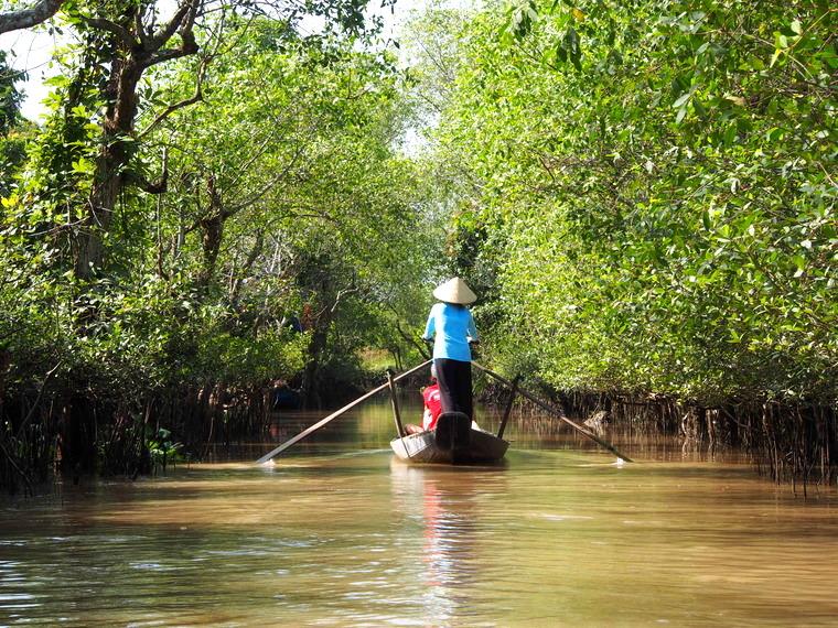 boat mekong delta vietnam