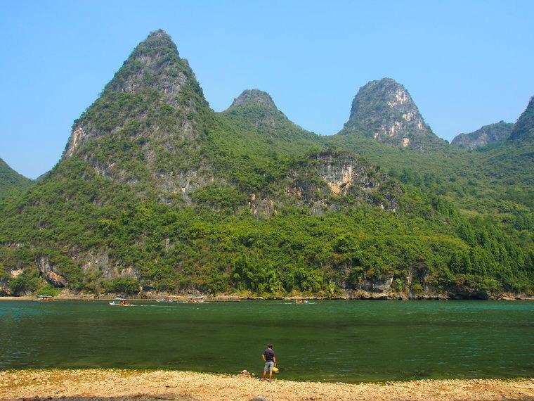 La riviere-Li aux abord de la Nine horses Hill