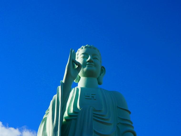 Le bouddha près de la pagode de Quy Nhon