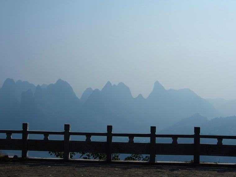 En chemin vers Xingping voici ce que l'on peut voir ..!