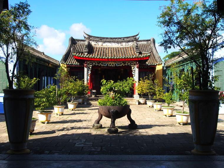 La maison commune des 5 congrégations (oui monsieur) à Hoian