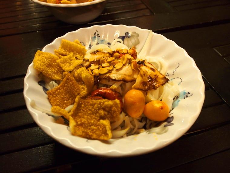 Le Mi Quang est un plat local que l'on adore !