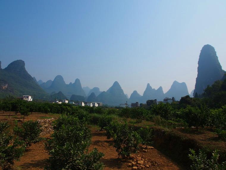 Les villages aux alentours de Yangshuo