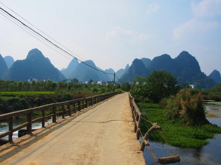 Un autre village nommé Shangri-La mais près de Yangshuo !
