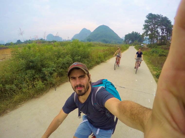 Toujours emmener sa GoPro pour les escapades en Vélo !