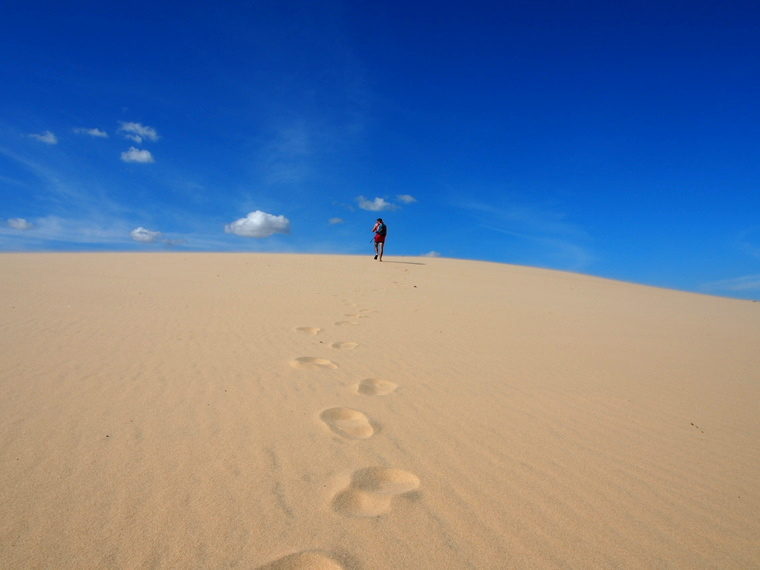 Un air de désert !