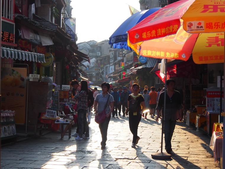 Yangshuo et sa west street ultra touristique