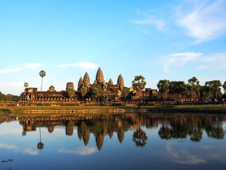 Encore et toujours Angkor vat