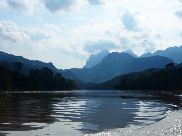 fleuve nam ou laos