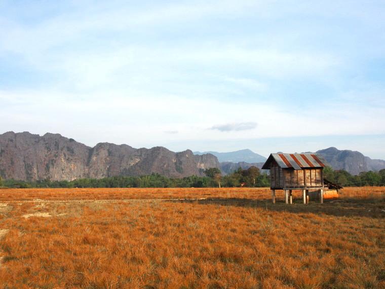 paysage centre laos montagne