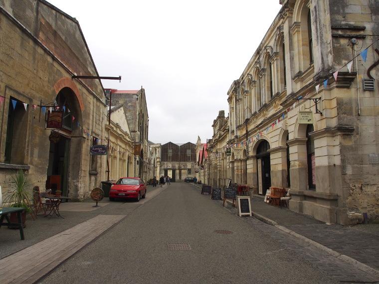 oamaru centre ville nouvelle zelande