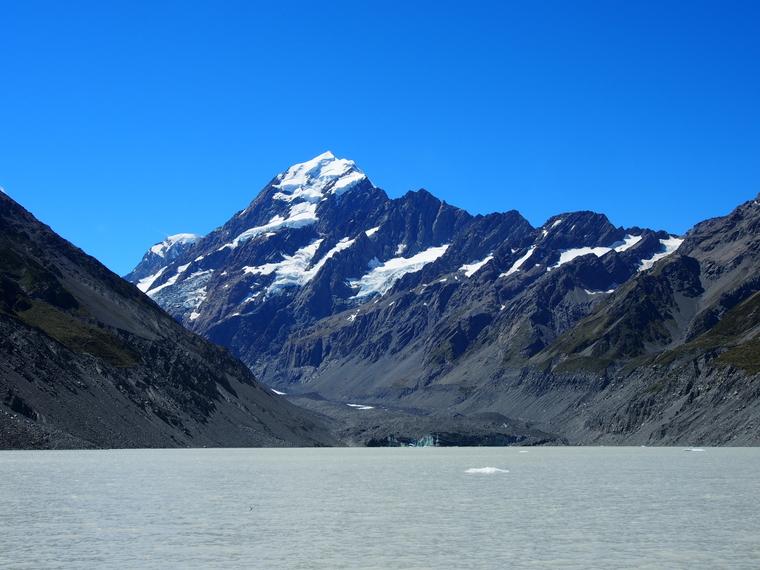 glacier hooker lake nz