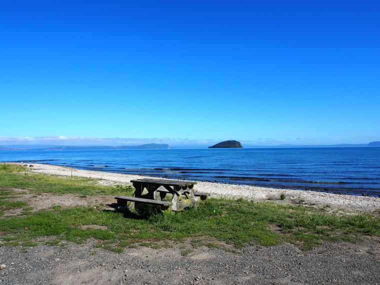 lac taupo nouvelle zelande