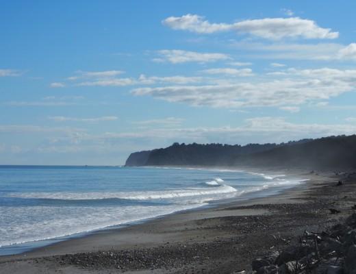mer cote ouest nouvelle zelande