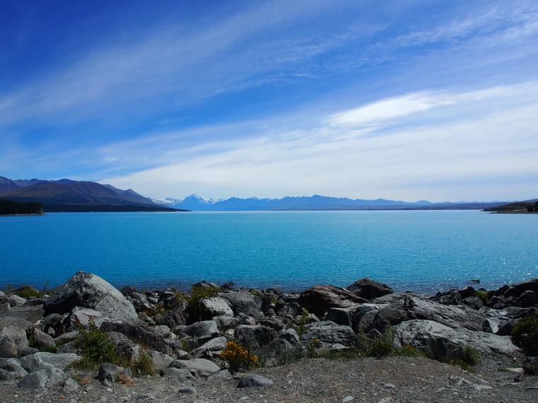 pukaki lake nouvelle zelande