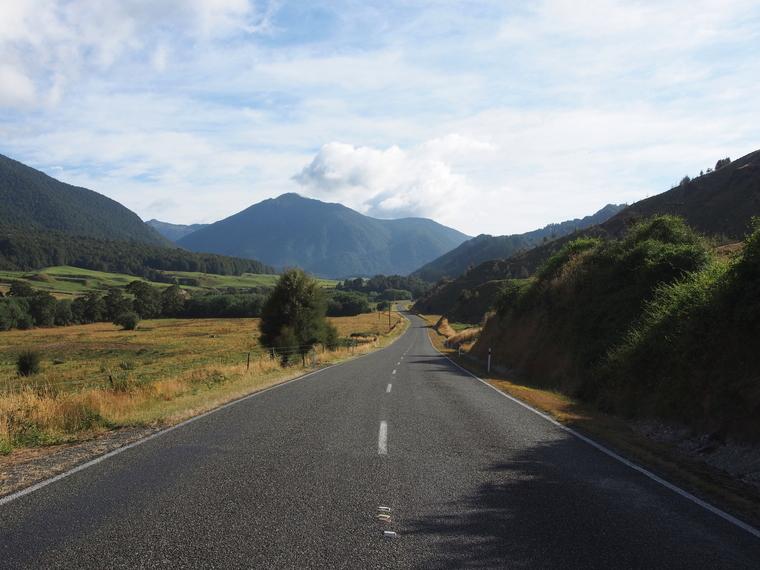 route ile sud nouvelle zelande