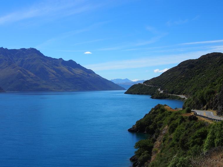 route lac voyage nz