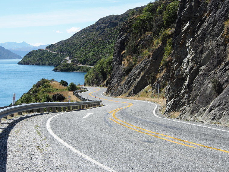 Sur la route en Nouvelle-Zélande..