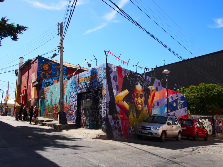 streetart valparaiso chili