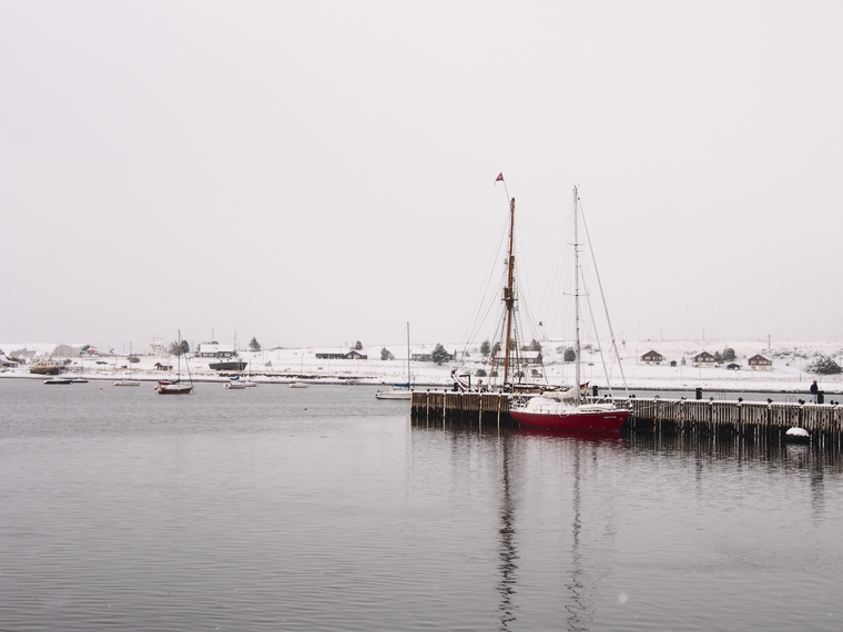 port ushuaia neige