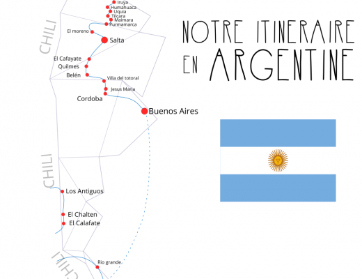 exemple itineraire voyage argentine