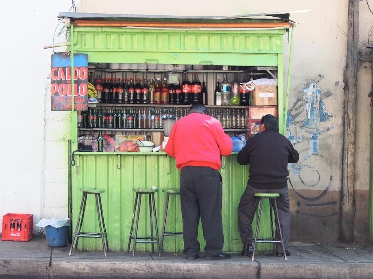 kioske la paz bolivie