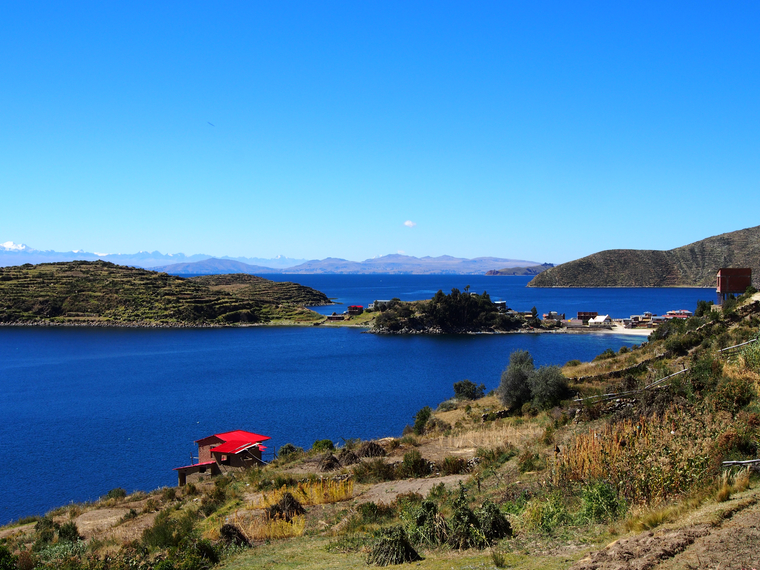 lac titicaca bolivie