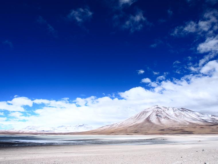 laguna blanca bolivie