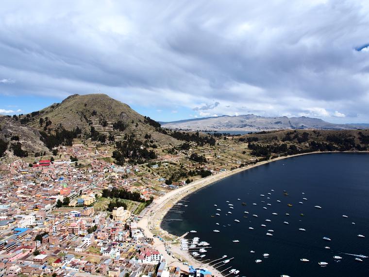 mirador calvario copacabana bolivie
