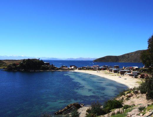plage isla del sol bolivie