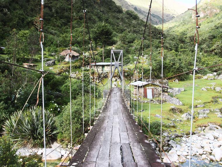 pont suspendu challapampa choro