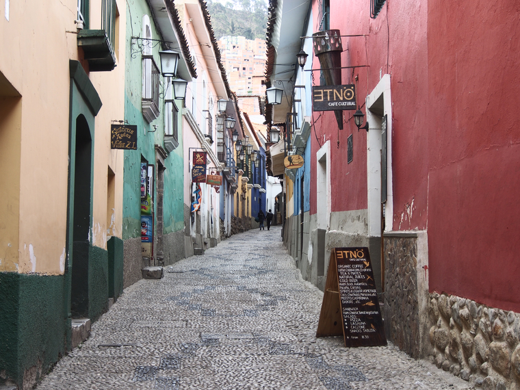 rue jaen la paz bolivie
