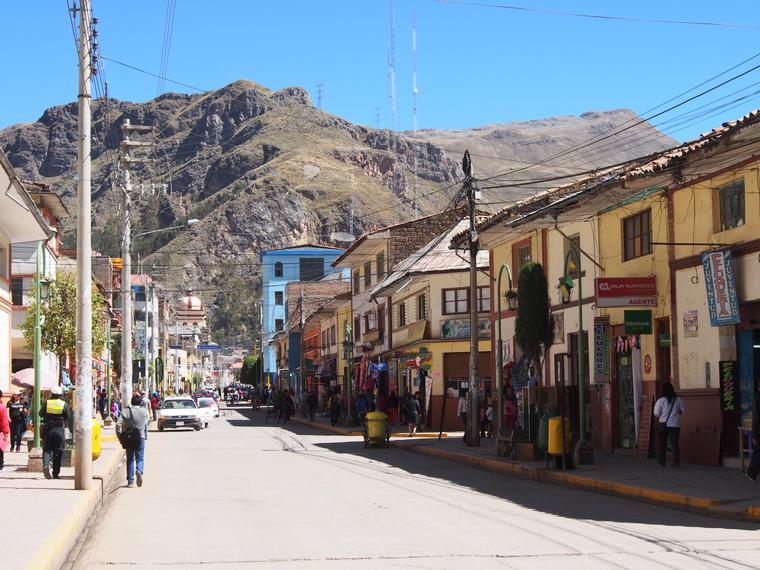 village huancavelica perou