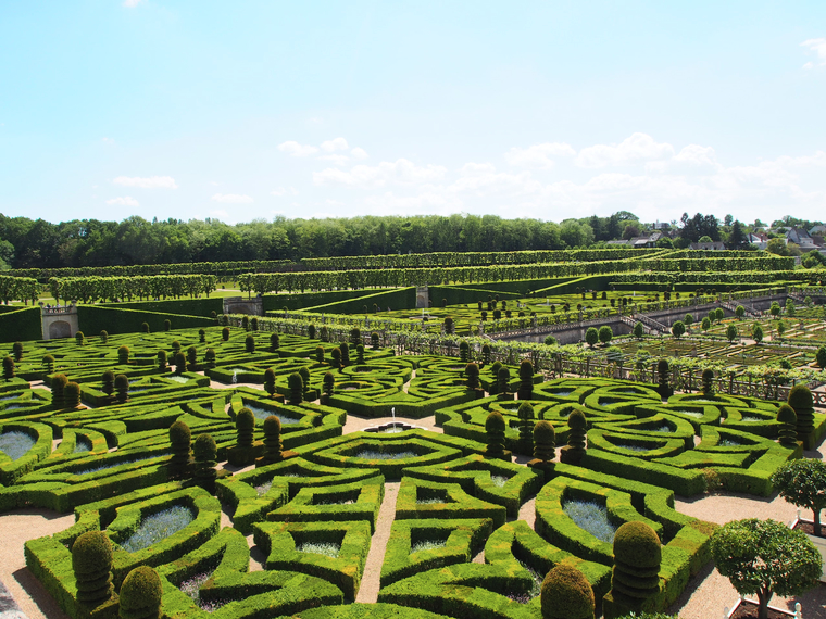 chateau et jardin villandry